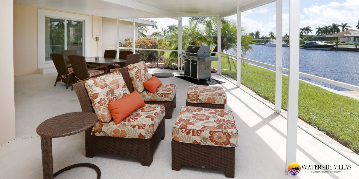 Baypoint Villa Pool Amp Waterfront Views In Cape Coral